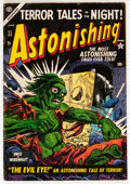 Golden Age (1938-1955):Horror, Astonishing #33 (Atlas, 1954) Condition: VG+....