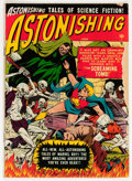 Golden Age (1938-1955):Science Fiction, Astonishing #4 (Atlas, 1951) Condition: FR/GD....