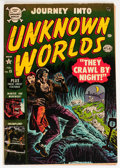 Golden Age (1938-1955):Horror, Journey Into Unknown Worlds #15 (Atlas, 1953) Condition: FN....