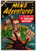 Golden Age (1938-1955):Horror, Men's Adventures #24 (Atlas, 1953) Condition: FN/VF....