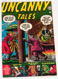 Golden Age (1938-1955):Horror, Uncanny Tales #4 (Atlas, 1952) Condition: VG/FN....