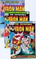 Bronze Age (1970-1979):Superhero, Iron Man Box Lot (Marvel, 1972-85) Condition: Average NM-....