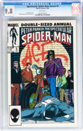 Modern Age (1980-Present):Superhero, Spectacular Spider-Man Annual #5 (Marvel, 1985) CGC NM/MT 9.8 Whitepages....