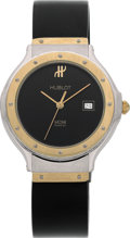 "Estate Jewelry:Watches, Hublot Lady's Gold, Stainless Steel ""MDM"" Watch. ..."