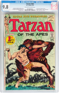 Bronze Age (1970-1979):Adventure, Tarzan #207 (DC, 1972) CGC NM/MT 9.8 Off-white to white pages....