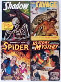 Pulps:Miscellaneous, Assorted Pulps Group (Various, 1939-49) Condition: Average VG.... (Total: 11 Items)