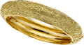 Estate Jewelry:Bracelets, Cynthia Bach Colored Diamond, Gold Bracelet. ...