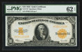 Large Size:Gold Certificates, Fr. 1173 $10 1922 Gold Certificate PMG Uncirculated 62 EPQ.. ...