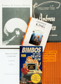 Books:Reference & Bibliography, [Science Fiction, Mystery and Detective Reference]. Group of SixMiscellaneous Books. Includes three bibliographies, two mas...(Total: 5 Items)