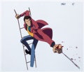 Animation Art:Production Cel, Lupin III Production Cel Animation Art (TMS Entertainment,1971-1990).... (Total: 2 Original Art)