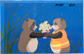 Animation Art:Production Cel, Pom Poko Production Cel Set-Up Animation Art (Studio Ghibli,1994).... (Total: 3 Original Art)
