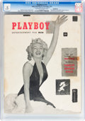 Magazines:Miscellaneous, Playboy #1 Incomplete (HMH Publishing, 1953) CGC PR 0.5 Off-whiteto white pages....