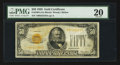 Small Size:Gold Certificates, Fr. 2404 $50 1928 Gold Certificate. PMG Very Fine 20.. ...