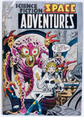Golden Age (1938-1955):Science Fiction, Space Adventures #12 (Charlton, 1954) Condition: GD....