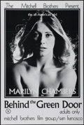 "Movie Posters:Bad Girl, Behind the Green Door (Mitchell Brothers, 1972). Poster (24"" X36""). Adult. Directed by Artie Mitchell and Jim Mitchell. Sta..."