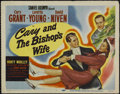 """Movie Posters:Comedy, The Bishop's Wife (RKO, 1948). Title Lobby Card (11"""" X 14"""").Romantic Comedy. Directed by Henry Koster. Starring Cary Grant,..."""