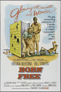 """Movie Posters:Adventure, Born Free (Columbia, 1966). One Sheet (27"""" X 41""""). Family. Directedby James H. Hill. Starring Virginia McKenna, Bill Traver..."""