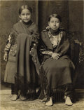American Indian Art:Photography, FOUR PHOTOS FROM INDIAN TERRITORY. . c. 1884 - 1925. ... (Total: 4Items)