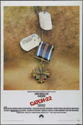 "Movie Posters:War, Catch-22 (Paramount, 1970). One Sheet (27"" X 41""). Comedy. Directedby Mike Nichols. Starring Alan Arkin, Martin Balsam, Ric..."