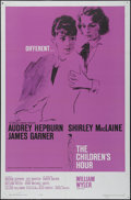 """Movie Posters:Drama, The Children's Hour (United Artists, 1962). One Sheet (27"""" X 41"""").Drama. Directed by William Wyler. Starring Audrey Hepburn..."""