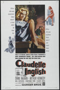 "Movie Posters:Drama, Claudelle Inglish (Warner Brothers, 1961). One Sheet (27"" X 41""). Crime. Directed by Gordon M. Douglas. Starring Diane McBai..."