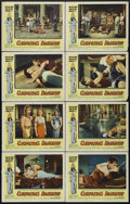 "Movie Posters:Adventure, Cleopatra's Daughter (Medallion, 1963). Lobby Card Set of 8 (11"" X14""). Drama. Directed by Fernando Cerchio. Starring Debra...(Total: 8 Items)"