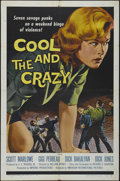 """Movie Posters:Bad Girl, The Cool and the Crazy (American International, 1958). One Sheet(27"""" X 41""""). Drama. Directed by William Witney. Starring Gi..."""
