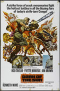"Movie Posters:War, Dark of the Sun (MGM, 1968). One Sheet (27"" X 41""). Action.Directed by Jack Cardiff. Starring Rod Taylor, Yvette Mimieux, J..."