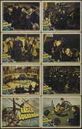 """Movie Posters:War, Eagle Squadron (Universal, 1942). Lobby Card Set of 8 (11"""" X 14"""").War. Directed by Arthur Lubin. Starring Robert Stack, Dia...(Total: 8 Items)"""