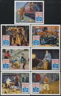 """Movie Posters:Comedy, Harold Lloyd's World of Comedy (Continental, 1962). Lobby Cards (7) (11"""" X 14""""). Comedy.... (Total: 7 Items)"""