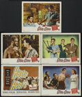 """Movie Posters:War, Hasty Heart (Warner Brothers, 1950). Lobby Cards (6) (11"""" X 14"""").Drama. Directed by Vincent Sherman. Starring Ronald Reagan...(Total: 6 Items)"""