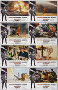"Movie Posters:Action, Hellfighters (Universal, 1969). Lobby Card Set of 8 (11"" X 14"").Action. Directed by Andrew V. McLaglen. Starring John Wayne...(Total: 8 Items)"