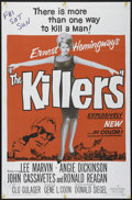 "Movie Posters:Crime, The Killers (Universal, 1964). One Sheet (27"" X 41""). Crime.Directed by Don Siegel. Starring Lee Marvin, Angie Dickinson, J..."