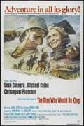 """Movie Posters:Adventure, The Man Who Would Be King (Columbia, 1975). One Sheet (27"""" X 41"""").Adventure. Directed by John Huston. Starring Sean Connery..."""