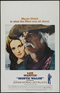 """Monte Walsh (National General, 1970). Window Card (14"""" X 22""""). Western. Directed by William A. Fraker. Starrin..."""