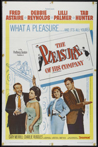 "The Pleasure of His Company (Paramount, 1961). One Sheet (27"" X 41""). Comedy. Directed by George Seaton. Starr..."