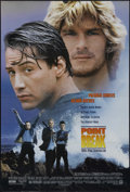 """Movie Posters:Action, Point Break (20th Century Fox, 1991). One Sheet (27"""" X 41""""). Action Thriller. Directed by Kathryn Bigelow. Starring Patrick ..."""