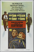 """Movie Posters:Sports, Requiem for a Heavyweight (Columbia, 1962). One Sheet (27"""" X 41""""). Drama. Directed by Alvin Rakoff. Starring Anthony Quinn, ..."""