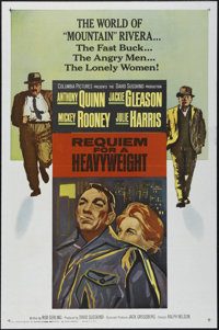 "Requiem for a Heavyweight (Columbia, 1962). One Sheet (27"" X 41""). Drama. Directed by Alvin Rakoff. Starring A..."