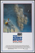 "Movie Posters:Adventure, The Right Stuff (Warner Brothers, 1983). One Sheet (27"" X 41"").Drama. Directed by Philip Kaufman. Starring Sam Shepard, Sco..."