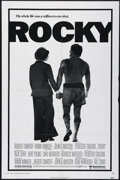 "Movie Posters:Sports, Rocky (United Artists, 1977). One Sheet (27"" X 41""). Drama. Directed by John G. Avildsen. Starring Sylvester Stallone, Talia..."