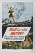 "Movie Posters:Western, Run of the Arrow (RKO, 1957). One Sheet (27"" X 41""). Western. Directed by Samuel Fuller. Starring Rod Steiger, Brian Keith, ..."