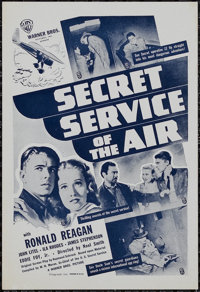 """Secret Service of the Air (Warner Brothers, 1938). Herald (6"""" X 9""""). Adventure. Directed by Noel Smith. Starri..."""