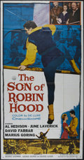 "Movie Posters:Adventure, The Son of Robin Hood (20th Century Fox, 1959). Three Sheet (41"" X81""). Adventure. Directed by George Sherman. Starring Al ..."