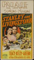 "Movie Posters:Adventure, Stanley and Livingstone (20th Century Fox, 1939). Midget WindowCard (8"" X 14""). Adventure Drama. Directed by Henry King. St..."