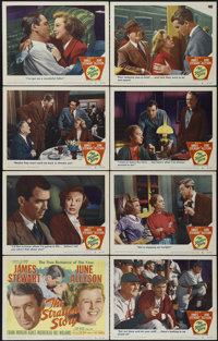 "The Stratton Story (MGM, 1949). Lobby Card Set of 8 (11"" X 14""). Drama. Directed by Sam Wood. Starring James S..."