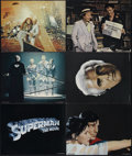 "Movie Posters:Fantasy, Superman, the Movie (Warner Brothers, 1978). Deluxe Lobby Cards (6) (11"" X 14"") and Color Stills (9) (8"" X 10""). Action. Dir... (Total: 15 Items)"