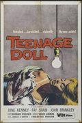 "Movie Posters:Bad Girl, Teenage Doll (Allied Artists, 1957). One Sheet (27"" X 41""). Crime.Directed by Roger Corman. Starring June Kenney, Fay Spain..."