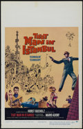 """Movie Posters:Adventure, That Man in Istanbul (Columbia, 1966). Window Card (14"""" X 22"""").Comedy. Directed by Antonio Isasi Isasmendi. Starring Horst ..."""