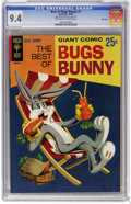 Silver Age (1956-1969):Cartoon Character, The Best of Bugs Bunny #1 File Copy (Gold Key, 1966) CGC NM 9.4 Off-white to white pages. Painted cover. Overstreet 2006 NM-...